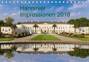Hannover Impressionen 2018 (Tischkalender 2018 DIN A5 quer) von Fischer Rinteln,  Rolf