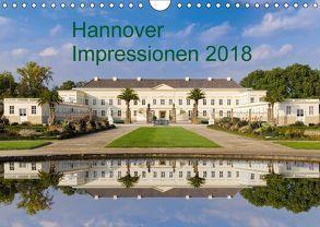 Hannover Impressionen 2018 (Wandkalender 2018 DIN A4 quer) von Fischer Rinteln,  Rolf