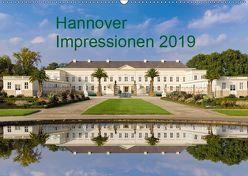 Hannover Impressionen 2019 (Wandkalender 2019 DIN A2 quer) von Fischer Rinteln,  Rolf