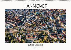 Hannover – Luftige Einblicke (Wandkalender 2019 DIN A2 quer) von fotowelt-heise