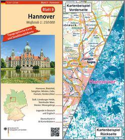 Hannover von BKG - Bundesamt für Kartographie und Geodäsie