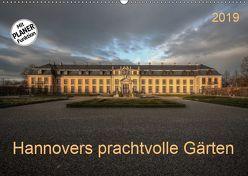 Hannovers prachtvolle Gärten (Wandkalender 2019 DIN A2 quer) von SchnelleWelten