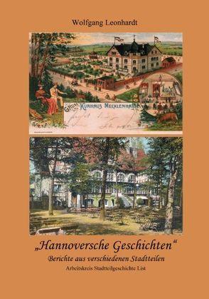 Hannoversche Geschichten von Leonhardt,  Wolfgang