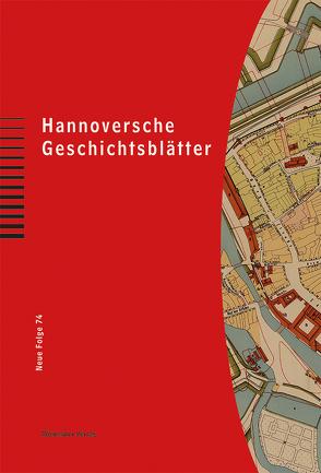 Hannoversche Geschichtsblätter 74 von Regin,  Cornelia