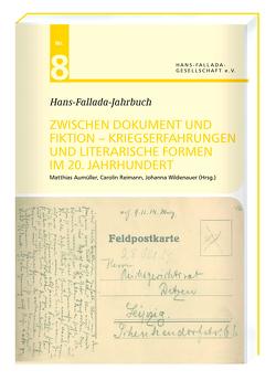 Hans-Fallada-Jahrbuch Nr. 8 von Aumüller,  Matthias, Reimann,  Carolin, Wildenauer,  Johanna