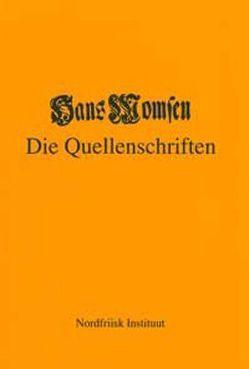 Hans Momsen – Die Quellenschriften von Holander,  Reimer K