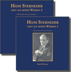 Hans Sterneder liest aus seinen Werken 1 und 2 von Sterneder,  Hans