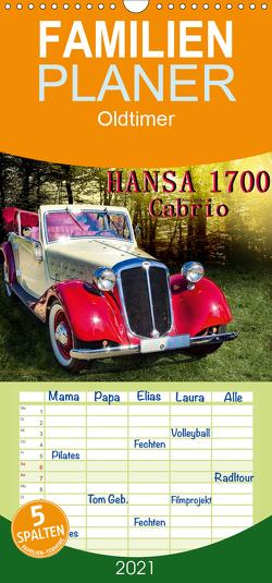 Hansa 1700 Cabrio – Familienplaner hoch (Wandkalender 2021 , 21 cm x 45 cm, hoch) von Roder,  Peter