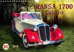 Hansa 1700 Cabrio (Wandkalender 2018 DIN A4 quer) von Roder,  Peter