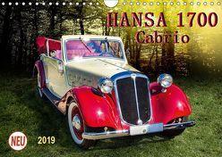 Hansa 1700 Cabrio (Wandkalender 2019 DIN A4 quer)
