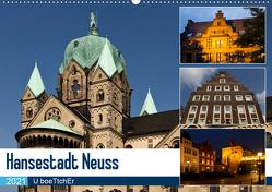 Hansestadt Neuss (Wandkalender 2021 DIN A2 quer) von boeTtchEr,  U