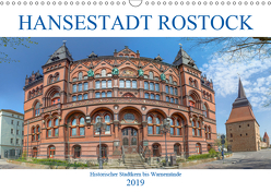 Hansestadt Rostock Historischer Stadtkern bis Warnemünde (Wandkalender 2019 DIN A3 quer) von / pixs:sell@Adobe Stock,  pixs:sell@fotolia
