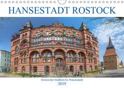 Hansestadt Rostock Historischer Stadtkern bis Warnemünde (Wandkalender 2019 DIN A4 quer) von / pixs:sell@Adobe Stock,  pixs:sell@fotolia