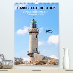 Hansestadt Rostock – Sehenswürdigkeiten der Ostseemetropole (Premium, hochwertiger DIN A2 Wandkalender 2020, Kunstdruck in Hochglanz) von pixs:sell@fotolia, Stock,  pixs:sell@Adobe