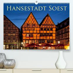 Hansestadt Soest (Premium, hochwertiger DIN A2 Wandkalender 2021, Kunstdruck in Hochglanz) von boeTtchEr,  U
