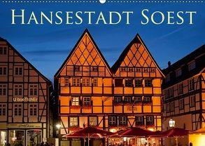 Hansestadt Soest (Wandkalender 2018 DIN A2 quer) von boeTtchEr,  U