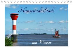 Hansestadt Stade am Wasser (Tischkalender 2021 DIN A5 quer) von Fornal,  Martina