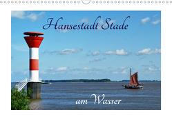 Hansestadt Stade am Wasser (Wandkalender 2021 DIN A3 quer) von Fornal,  Martina