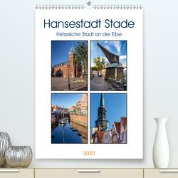 Hansestadt Stade – Historische Stadt an der Elbe (Premium, hochwertiger DIN A2 Wandkalender 2020, Kunstdruck in Hochglanz) von Klinder,  Thomas