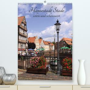 Hansestadt Stade – schön und sehenswert (Premium, hochwertiger DIN A2 Wandkalender 2021, Kunstdruck in Hochglanz) von Reupert,  Lothar