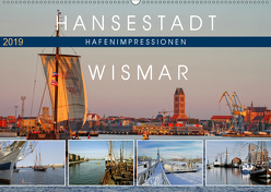 Hansestadt Wismar – Hafenimpressionen (Wandkalender 2019 DIN A2 quer) von Felix,  Holger