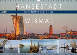 Hansestadt Wismar – Hafenimpressionen (Wandkalender 2019 DIN A3 quer) von Felix,  Holger