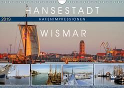 Hansestadt Wismar – Hafenimpressionen (Wandkalender 2019 DIN A4 quer) von Felix,  Holger
