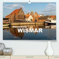 Hansestadt Wismar (Premium, hochwertiger DIN A2 Wandkalender 2021, Kunstdruck in Hochglanz) von Schickert,  Peter