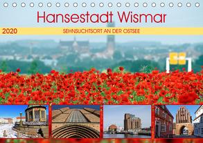 Hansestadt Wismar – Sehnsuchtsort an der Ostsee (Tischkalender 2020 DIN A5 quer) von Felix,  Holger