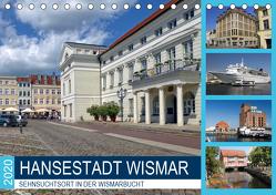 Hansestadt Wismar – Sehnsuchtsort in der Wismarbucht (Tischkalender 2020 DIN A5 quer) von Felix,  Holger