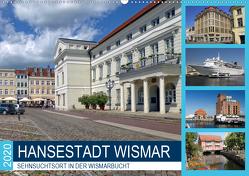 Hansestadt Wismar – Sehnsuchtsort in der Wismarbucht (Wandkalender 2020 DIN A2 quer) von Felix,  Holger