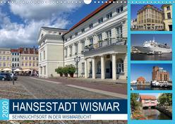 Hansestadt Wismar – Sehnsuchtsort in der Wismarbucht (Wandkalender 2020 DIN A3 quer) von Felix,  Holger