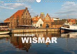 Hansestadt Wismar (Wandkalender 2018 DIN A4 quer) von Schickert,  Peter