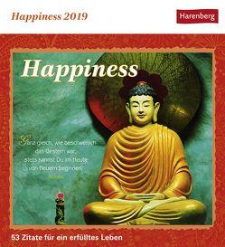Happiness – Kalender 2019 von Harenberg