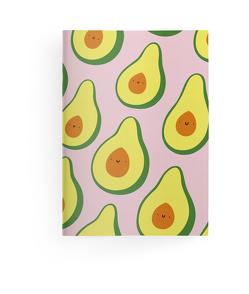 Happy Fruits 10,5×14,8 cm – GreenLine Booklet – 48 Seiten, Punktraster und blanko – Softcover – gebunden