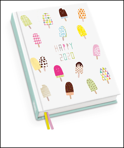 Happy Ice 2020 – Taschenkalender – Terminplaner mit Wochenkalendarium – Format 11,3 x 16,3 cm von DUMONT Kalenderverlag