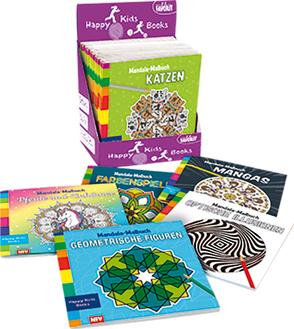 Happy Kids Books Display – Mandala