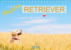Happy Retriever (Tischkalender 2019 DIN A5 quer) von PK-Fotografie