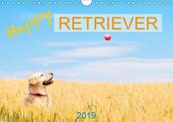 Happy Retriever (Wandkalender 2019 DIN A4 quer) von PK-Fotografie