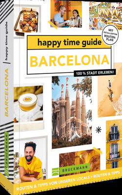 happy time guide Barcelona von Vis,  Annebeth