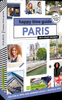 happy time guide Paris von Nieman,  Roosje