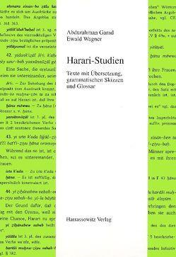 Harari-Studien von Garad,  Abdurahman, Wagner,  Ewald