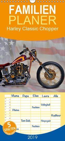 Harley Classic Chopper – Familienplaner hoch (Wandkalender 2019 , 21 cm x 45 cm, hoch) von Laue,  Ingo