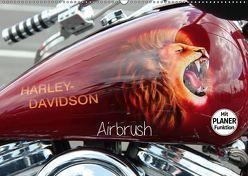 Harley Davidson – Airbrush (Wandkalender 2019 DIN A2 quer) von Brix - Studio Brix,  Matthias