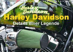 Harley Davidson – Details einer Legende (Wandkalender 2019 DIN A4 quer) von Bartruff,  Thomas