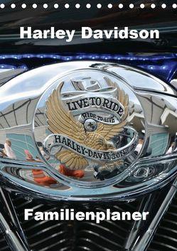 Harley Davidson Familienplaner (Tischkalender 2019 DIN A5 hoch) von Bartruff,  Thomas