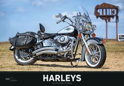 Harleys 2019 – XL-Bildkalender von ALPHA EDITION, Popkes,  Christian