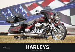Harleys 2020 – Bildkalender quer (50 x 34) – Technikkalender – Fahrzeuge – Motorrad-Kalender – Wandkalender von ALPHA EDITION, Popkes,  Christian