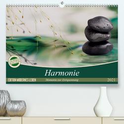 Harmonie (Premium, hochwertiger DIN A2 Wandkalender 2021, Kunstdruck in Hochglanz) von Buch,  Monika