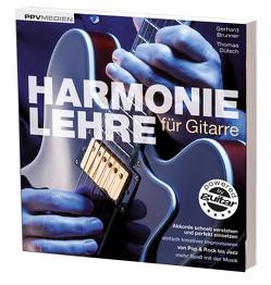 Harmonielehre für Gitarre von Brunner,  Gerhard, Dütsch,  Thomas